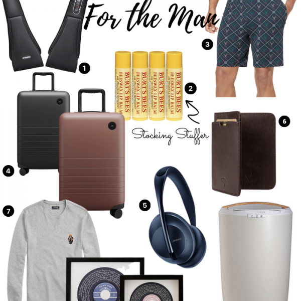 Gift Guide: For the Man in Your Life